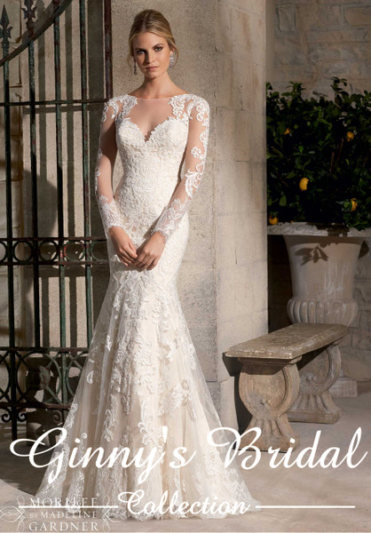 Mori Lee Bridal Gown 2725