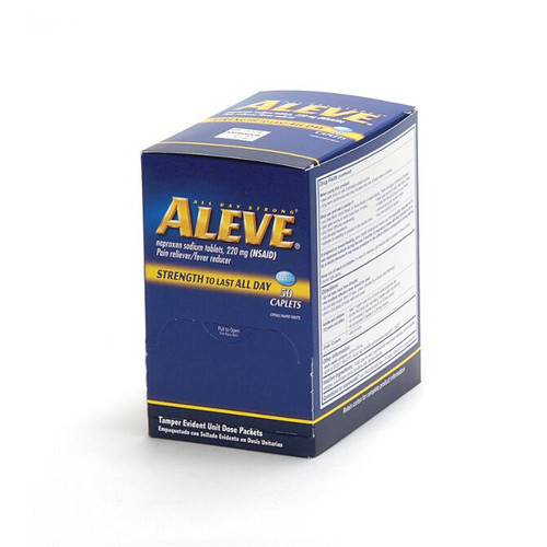 Aleve Caplets - (NSAID)  - 50 Count Box