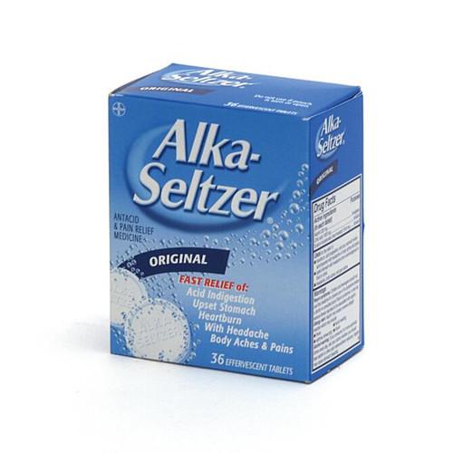 Alka Seltzer - 36 Count Box
