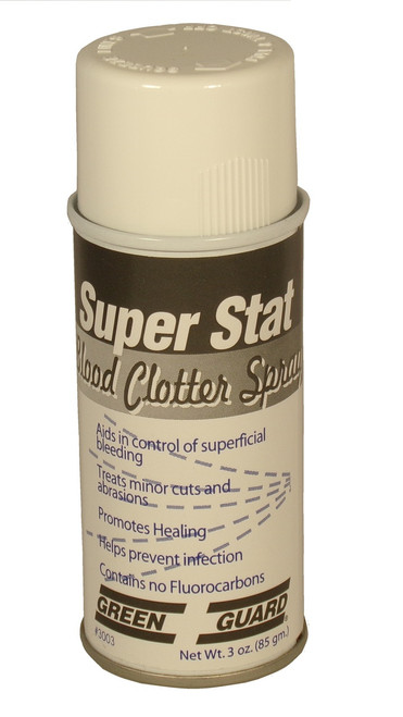 Super Stat   Blood Clotting Spray 3 Ounce Can