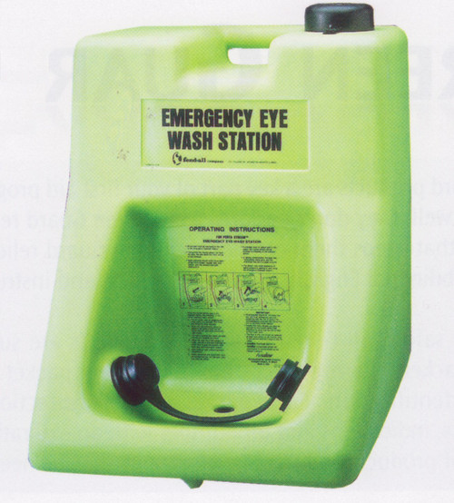 Eye Saline 16 Gal. Eye Wash Station