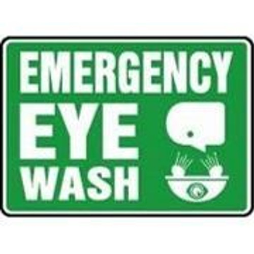 Sign - Eye Wash Sign