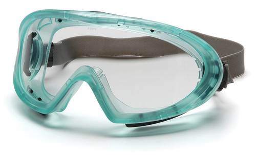 CAPSTONE DUAL PANE LENS FEATURES • Indirect-vent frame provides protection against splash and dust. • Soft vinyl goggle body conforms to facial contours for a comfortable, custom fit. • High Impact Resistance protects against flying particles. • Double lens consists of polycarbonate lens on the outer side with acetate antifog lens on inner side. • Dual pane lens ensures ultimate anti-fog performance. • Ideal for use over long periods of time. • The thermal system provides anti-fog protection in extreme weather conditions. • Fits over prescription glasses. • Fully adjustable elastic band. • Polycarbonate lenses filter out more than 99.9% of harmful UV rays. • Exceeds MIL-PRF 32432