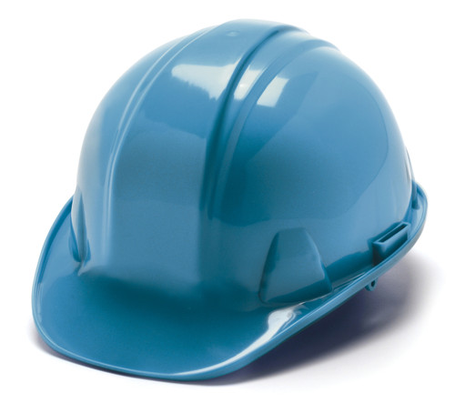 """HARD HAT FEATURES • Shell constructed from High Density Polyethylene materials. • Low profile design. • Rain trough on sides and back of helmet channel moisture away. • Universal accessory slots fit cap mounted ear muffs and accessories. Hats also accommodate chin straps. • Snap Lock suspension features """"tuck away"""" adjustments for all day, hassle free wear. • Ratchet suspension is easy to adjust and allows the wearer to modify the fit while wearing hard hat. • Cap style is available with 4- and 6-point nylon suspensions – Snap Lock and Ratchet styles. • Full Brim style is available with 4- point and 6-point nylon ratchet suspensions. • Soft brow pad is replaceable. Replaceable suspensions and headbands also available. • Exceeds ANSI Z89.1-2009, Type 1, Class C, G, and E for industrial head protection."""