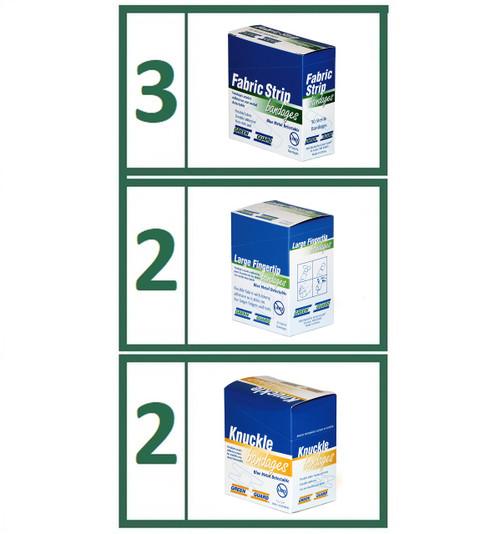 Bandaid Refill Food Service Bundle - Small Variety