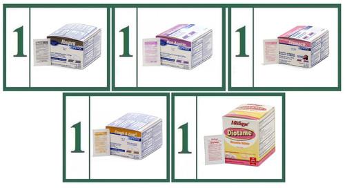 Tablet Medications Generic Refill Combo - Basic