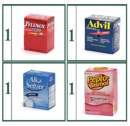 Tablet Medications Brand Name Refill Combo - Basic