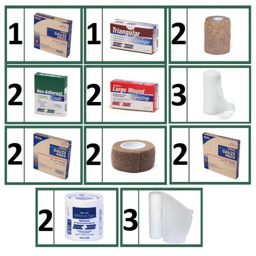 Bandages & Wound Care Refill Bundle -  Medium