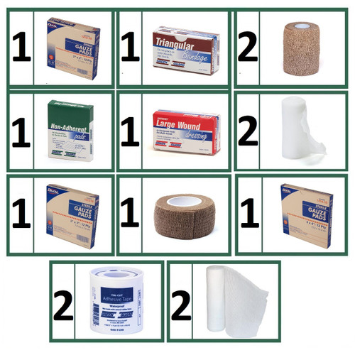 Bandages & Wound Care Refill Bundle -  Small