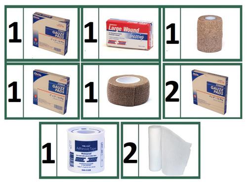 Bandages & Wound Care Refill Bundle - Basic
