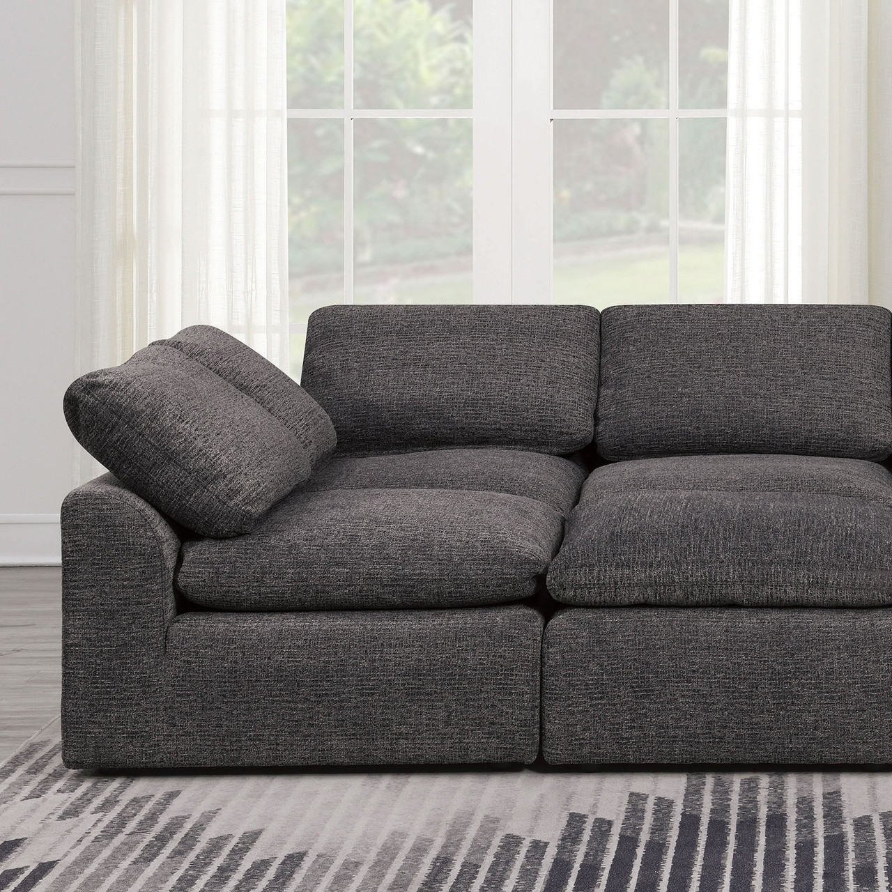 - The Joel Contemporary Sleeper Sofa Available At Furniture Express