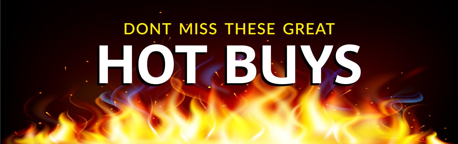 Hot Buy Banner