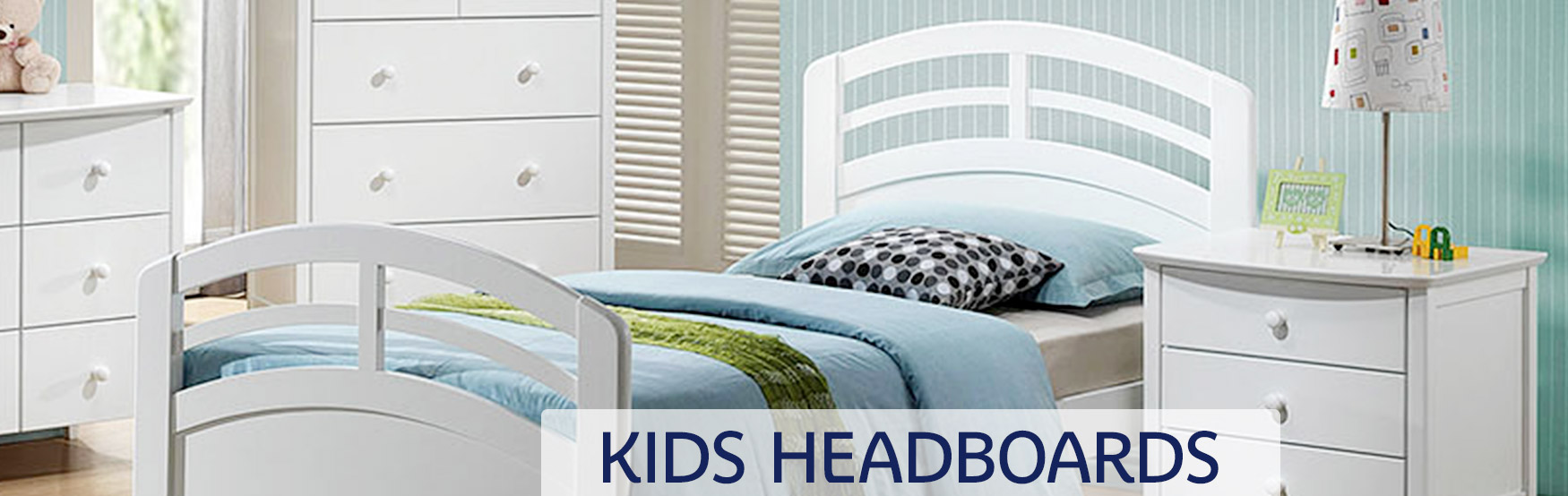 Kids Headboards Banner