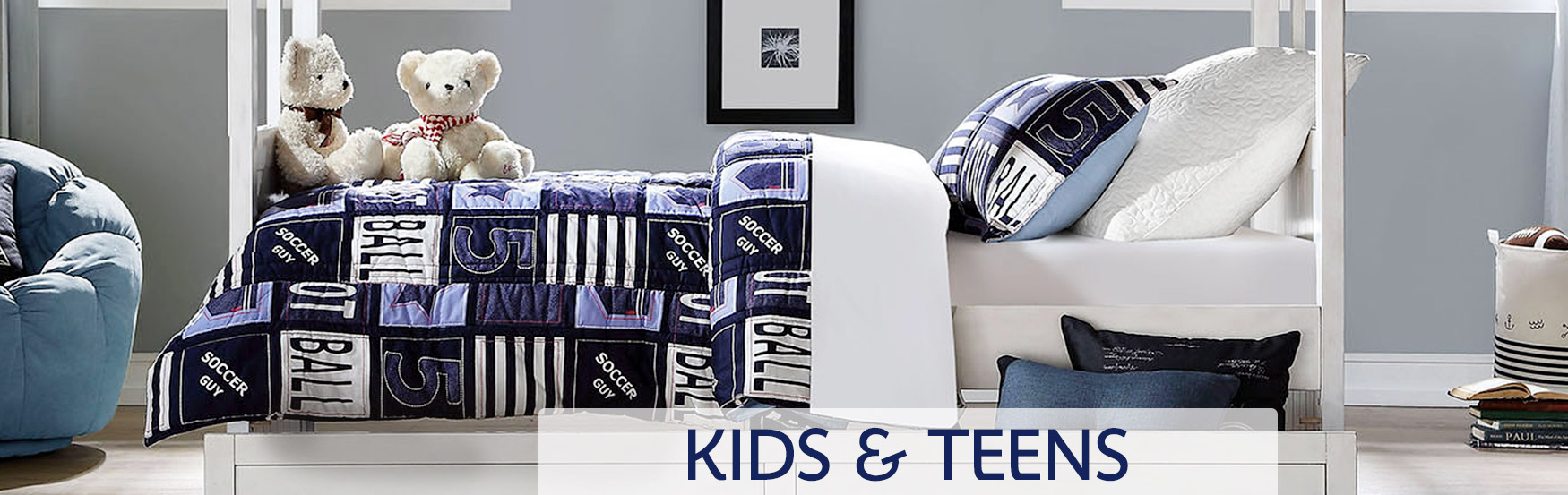 Kids & Teens Furniture Banner