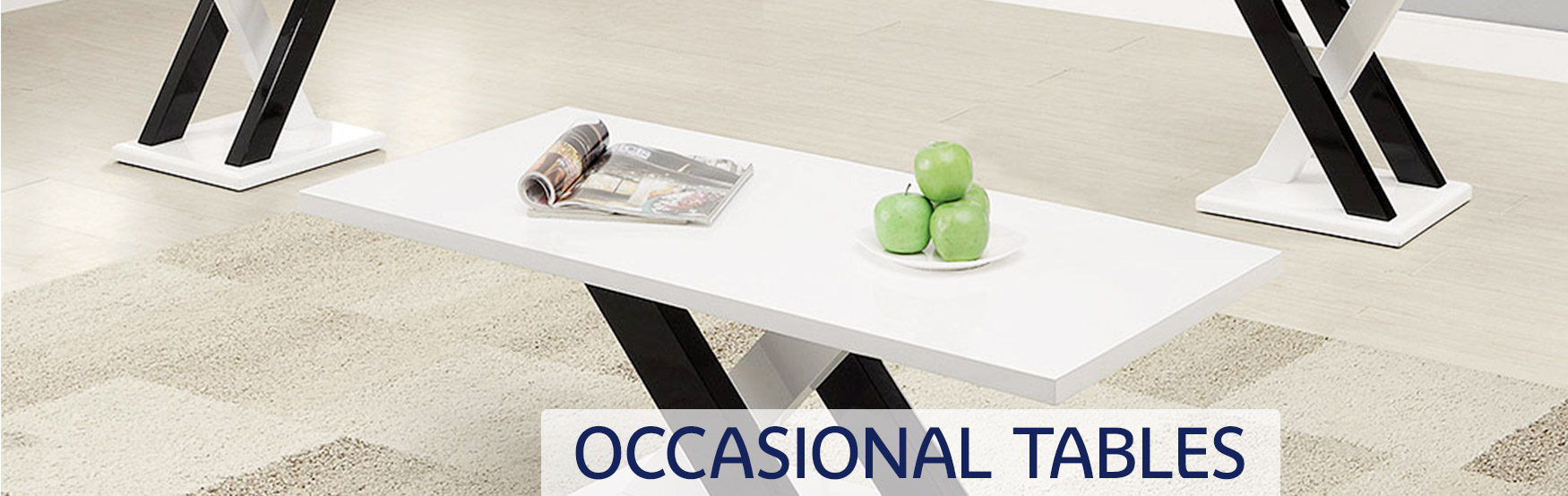 Occasional Tables Banner