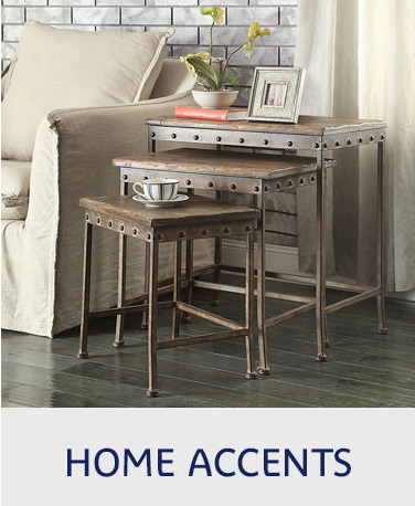 Click here to shop home accents.