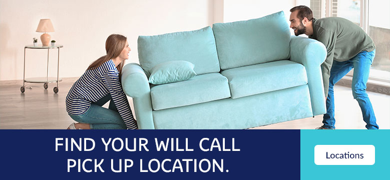 Find Where You are Going To Pick Up Your Furniture!