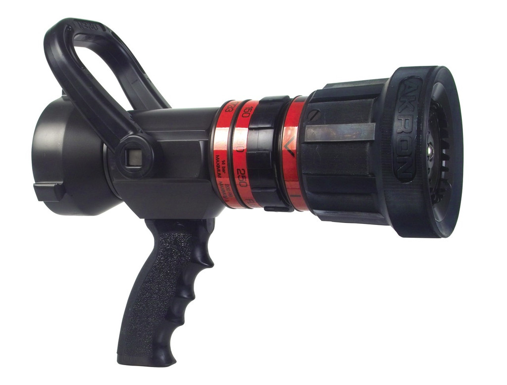 "Akron #1733 2.5"" Turbojet High-Range Nozzle with Pistol Grip"