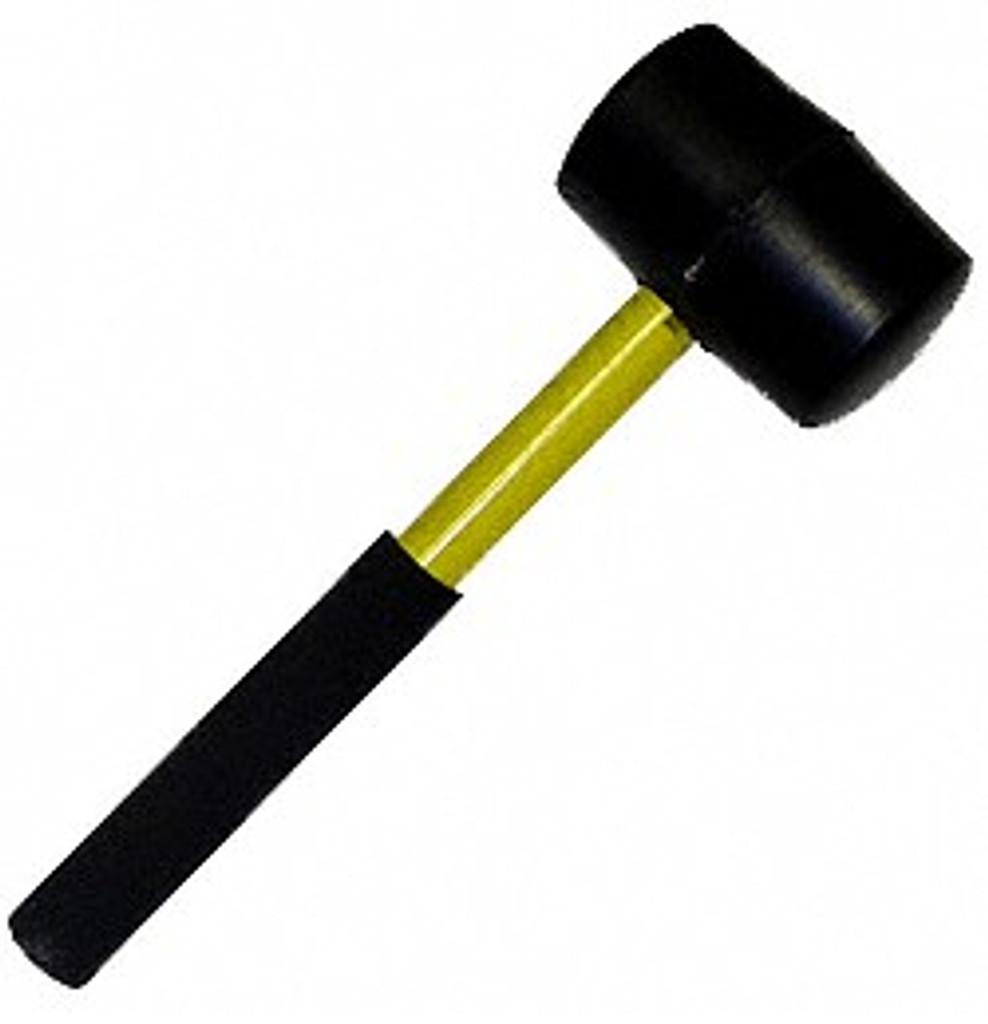 Fire Hooks Unlimited 2 lb. Connection Mallet with Fiberglass Handle