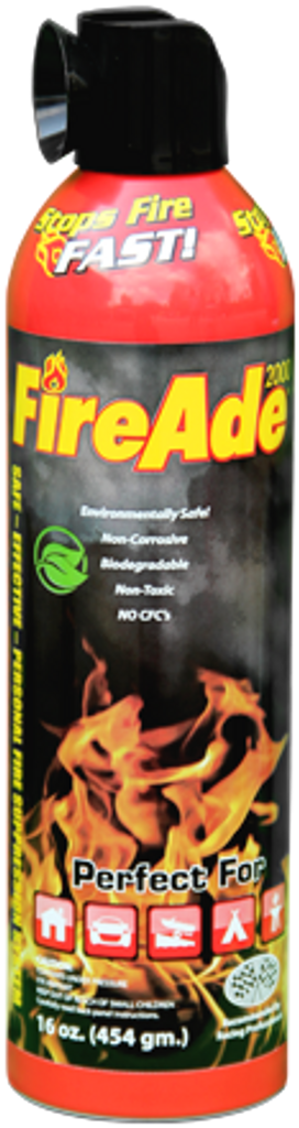 FireAde Personal Fire Suppression - 16oz. Can
