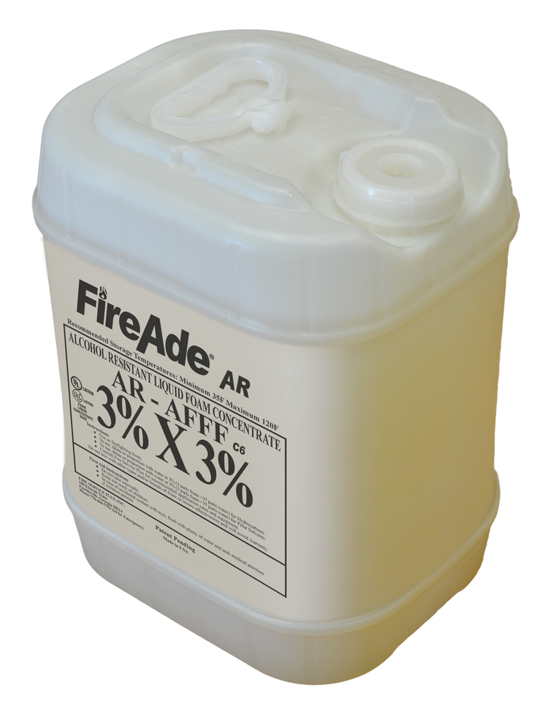 FireAde 2000 AR-AFFF 3x3 - Available in 5 gallon pail, 55 gallon drum, or 250 & 330 gallon tote - CALL FOR PRICING