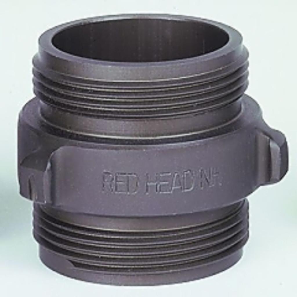 """Red Head #36-2.5 DM 2.5"""" x 2.5"""" Double Male Rocker Lug Adapter"""