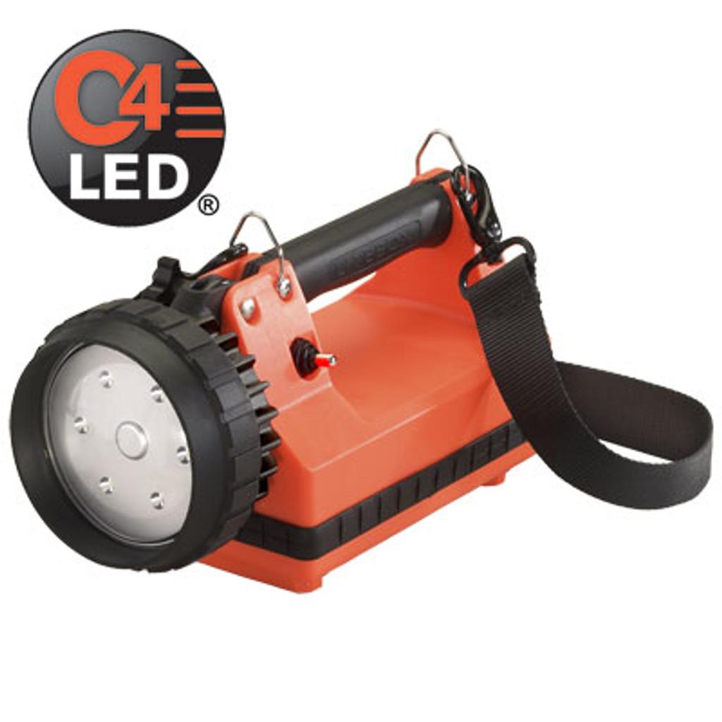 Streamlight #45811 E-Flood FireBox Standard System 120V AC/12VDC - Orange