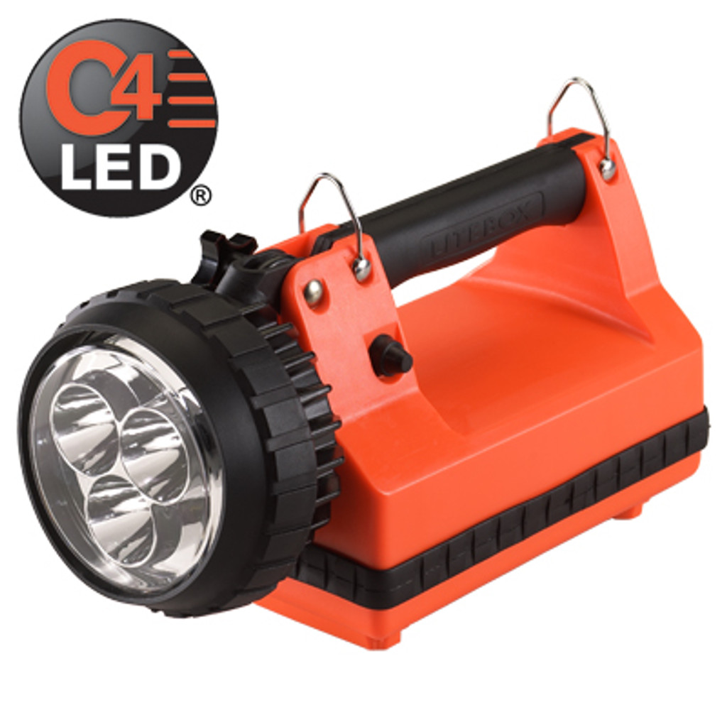 Streamlight #45801 E-Flood LiteBox Standard System 120V AC/12VDC - Orange