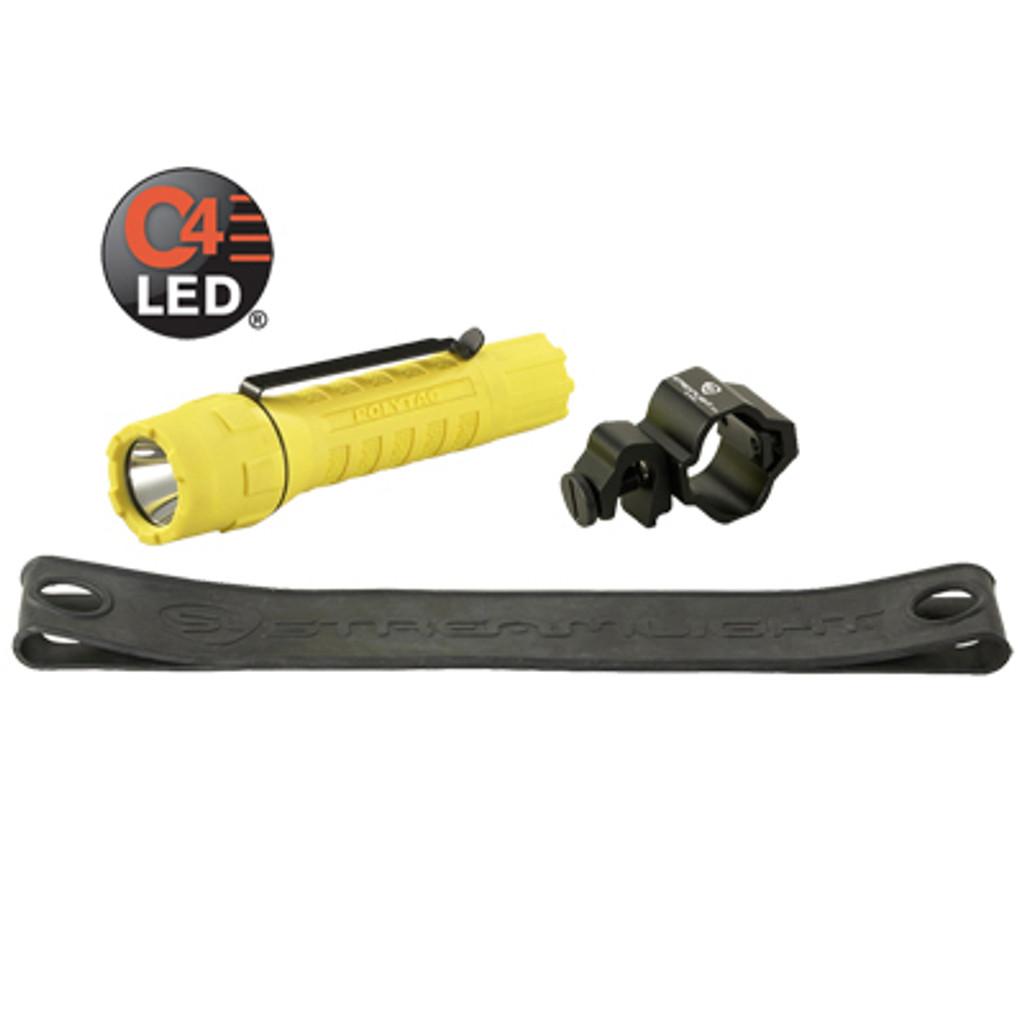 Streamlight #88854 Poly Tac Tactical Light Helmet Lighting Kit - Yellow