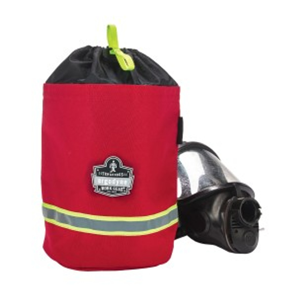 Ergodyne #13080 SCBA Mask Bag - Red