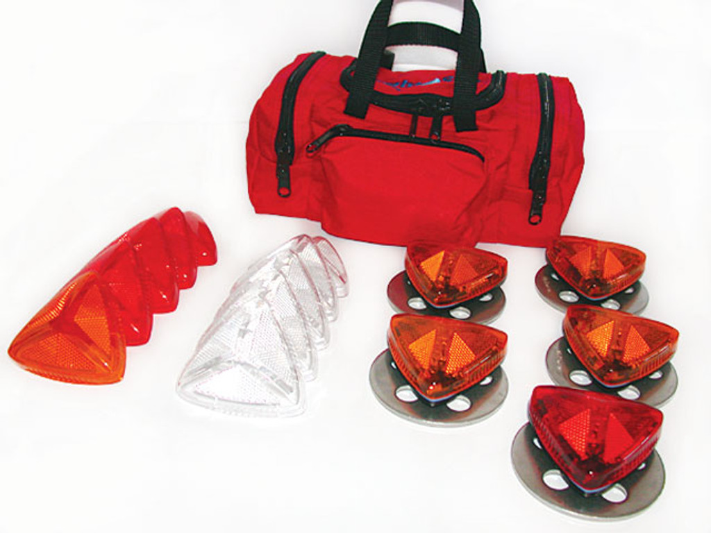 Priority 1 Life Safety #G65010 Flight Site Landing Zone Kit w/ Five (5) Xenon Strobes