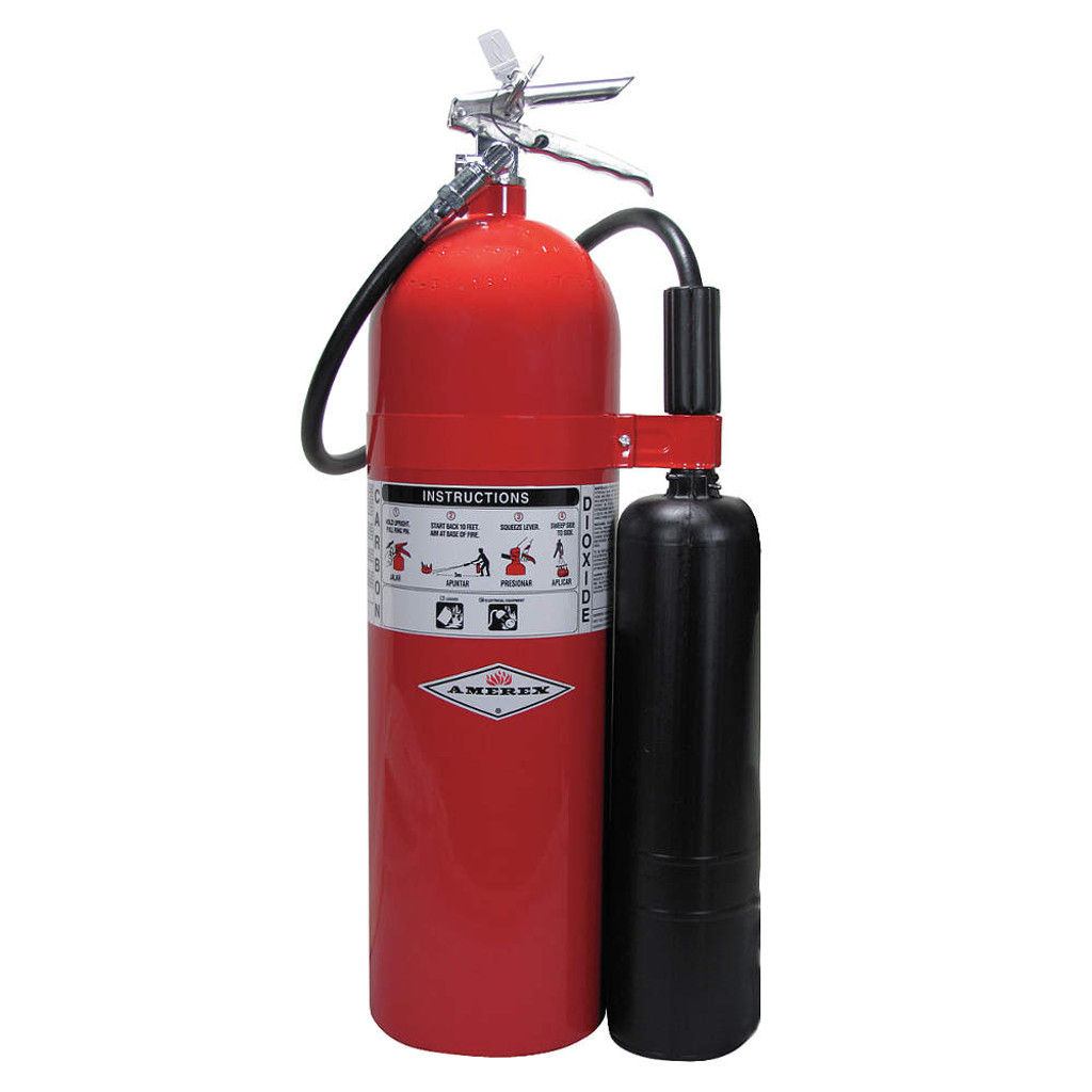 Amerex #AX332 20-lb. Carbon Dioxide Fire Extinguishers