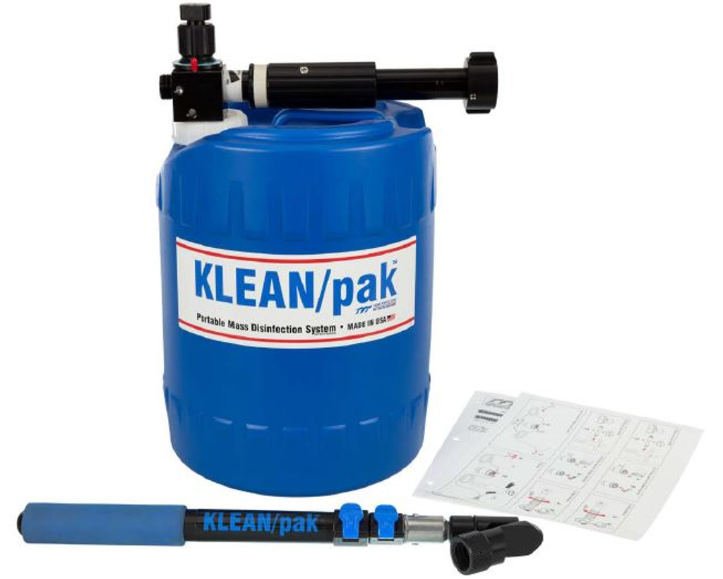 Klean / Pak #UM19A Portable Mass Disinfection System