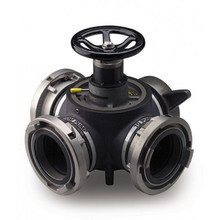Akron 4-Way Hydrant Valve