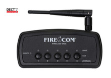 FireCom DECT7 Wireless Base Station with Rabio Transmit & Intercom Connections