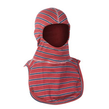 """Majestic """"Americana"""" PAC II Fire Fighter Hood - Red with White and Blue Stripes"""