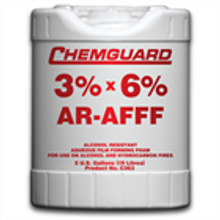 Chemguard 3/6% AR-AFFF Foam Concentrate - 5 Gallon Pail (Also available in 55 gallon drum or 265 gallon tote - call for pricing)