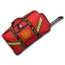 Lightning X #LXFB60WD Premium Rolling / Luggage Style Gear Bag with Retractable Handle - Specify Red or Black