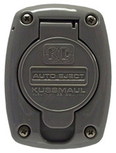Kussmaul #091-55GY Receptacle Cover For 15 & 20 Amp Super Auto Eject - Gray