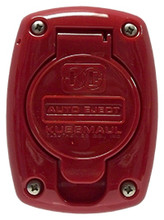 Kussmaul #091-55RD Receptacle Cover For 15 & 20 Amp Super Auto Eject - Red