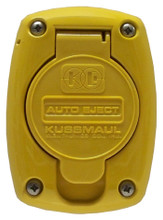 Kussmaul #091-55YW Receptacle Cover For 15 & 20 Amp Super Auto Eject - Yellow
