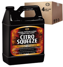 Ready Rack #FS-C-001-4 Citrosqueeze PPE & Turnout Gear Cleaner - 1 case (4 Gallons)
