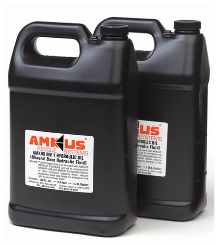 Amkus MV-1 Mineral Base Hydraulic Fluid (2 - (1) Gallon Pack)