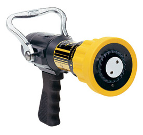 "Elkhart #02XD1001 XD 1.5"" Select O Matic Nozzle with Pistol Grip - 60-200 GPM @ 100 PSI"