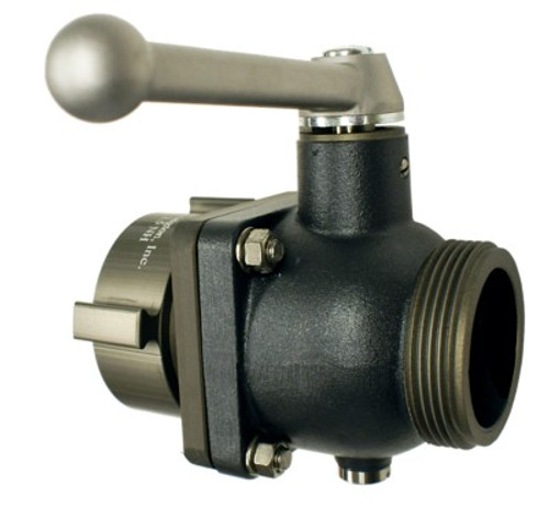 "Harrington 2.5"" F x 2.5"" M Hydrant Ball Valve"