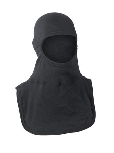 "Majestic ""Instructor"" PAC II-3Ply-P84-B Fire Fighting Hood - Black"