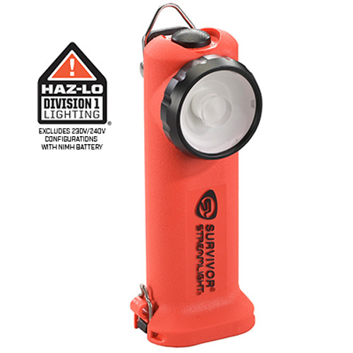 Streamlight #90540 Survivor Light - Alkaline Module - Orange