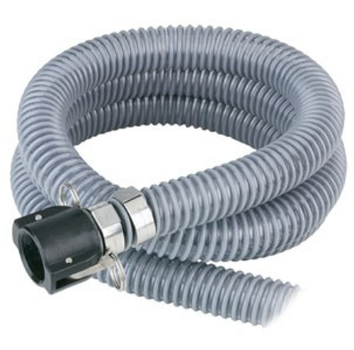 "TFT Legacy 1.25"" x 8' Clear Pickup Hose with 1"" Camlock Connection"