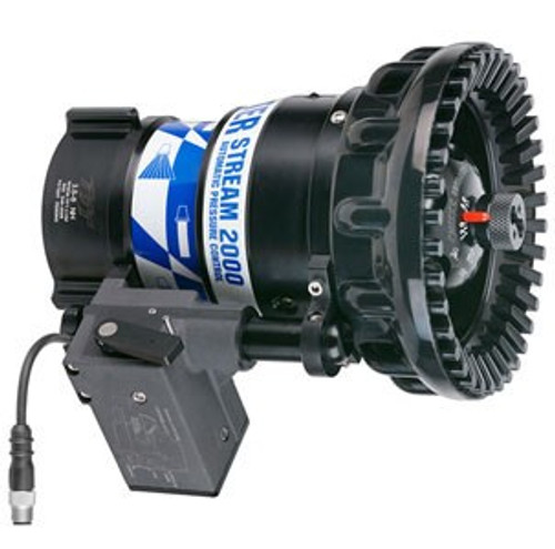 """TFT Legacy 3.5"""" Master Stream 2000 Electric Remote Nozzle with Plug - 300-2000 GPM @ 100 PSI"""