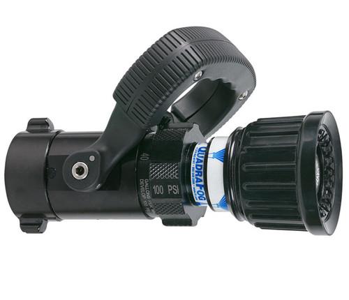 "TFT Legacy #DQS40 1"" Quadrafog Nozzle with Shutoff - 5, 10, 24, 40 GPM @ 100 PSI"